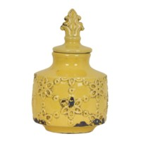 Medium Spring Lidded Urn