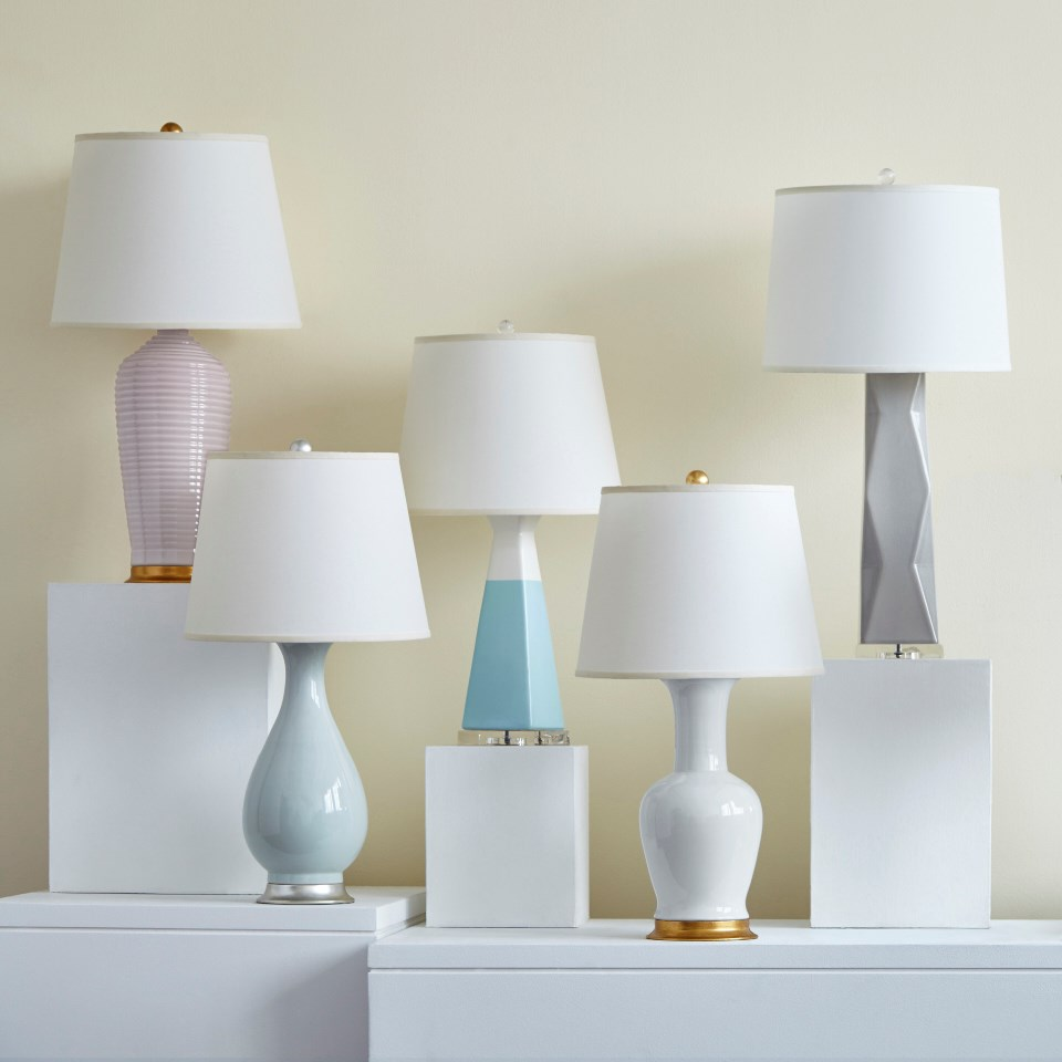 Acacia Lamp (Lamp Only), White - Bungalow 5