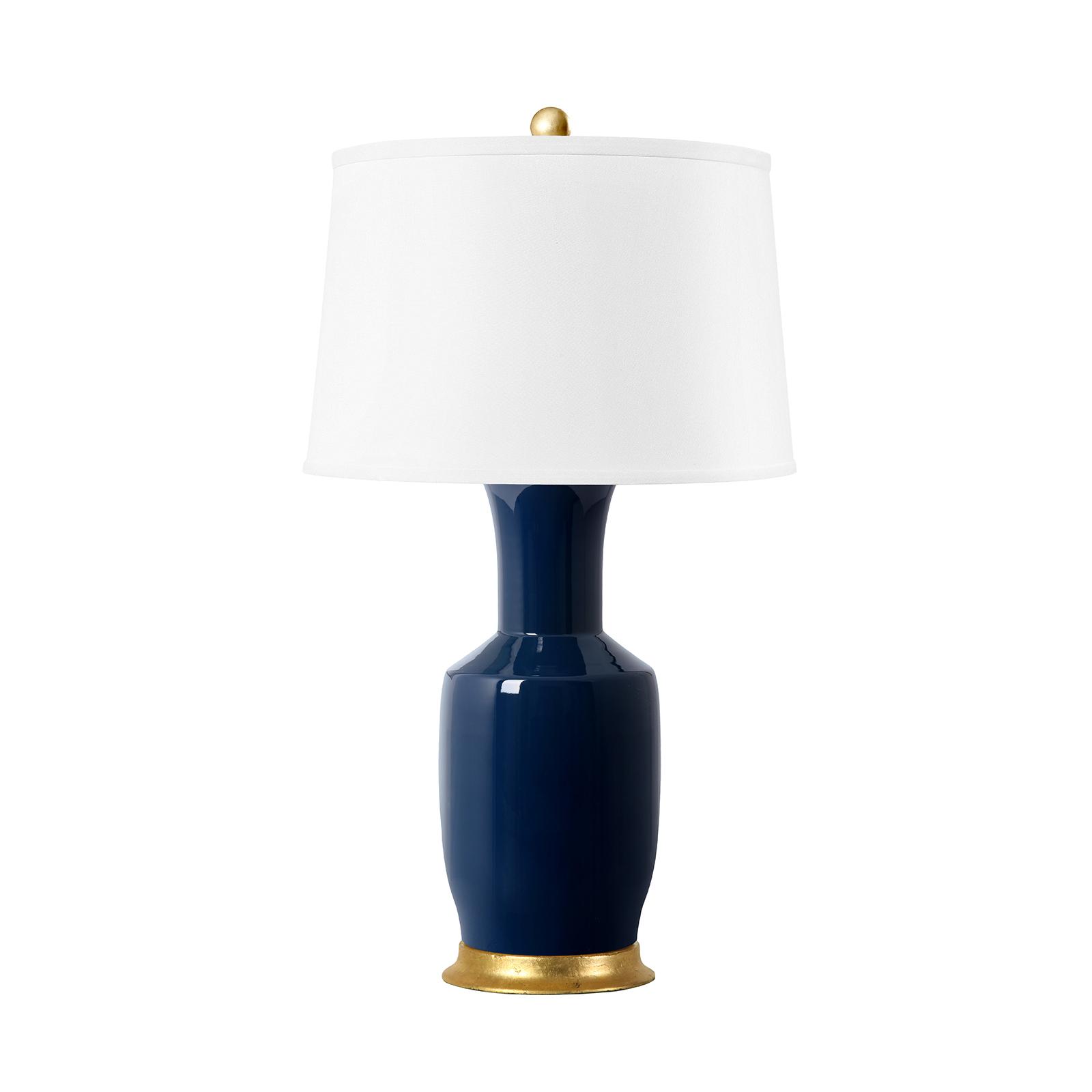 Alia Lamp (Lamp Only), Navy Blue