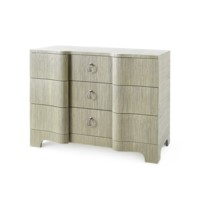Bardot Large 3-Drawer, Sage Green