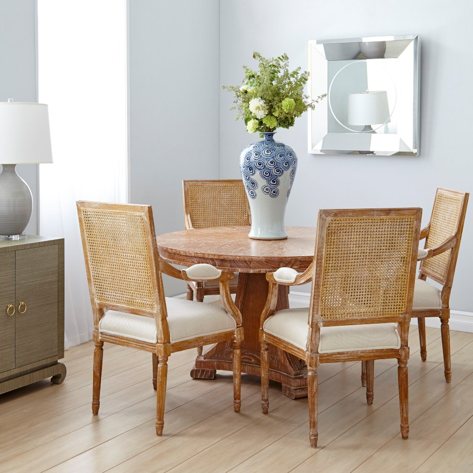 Blair Center/ Dining Table, Natural - Bungalow 5