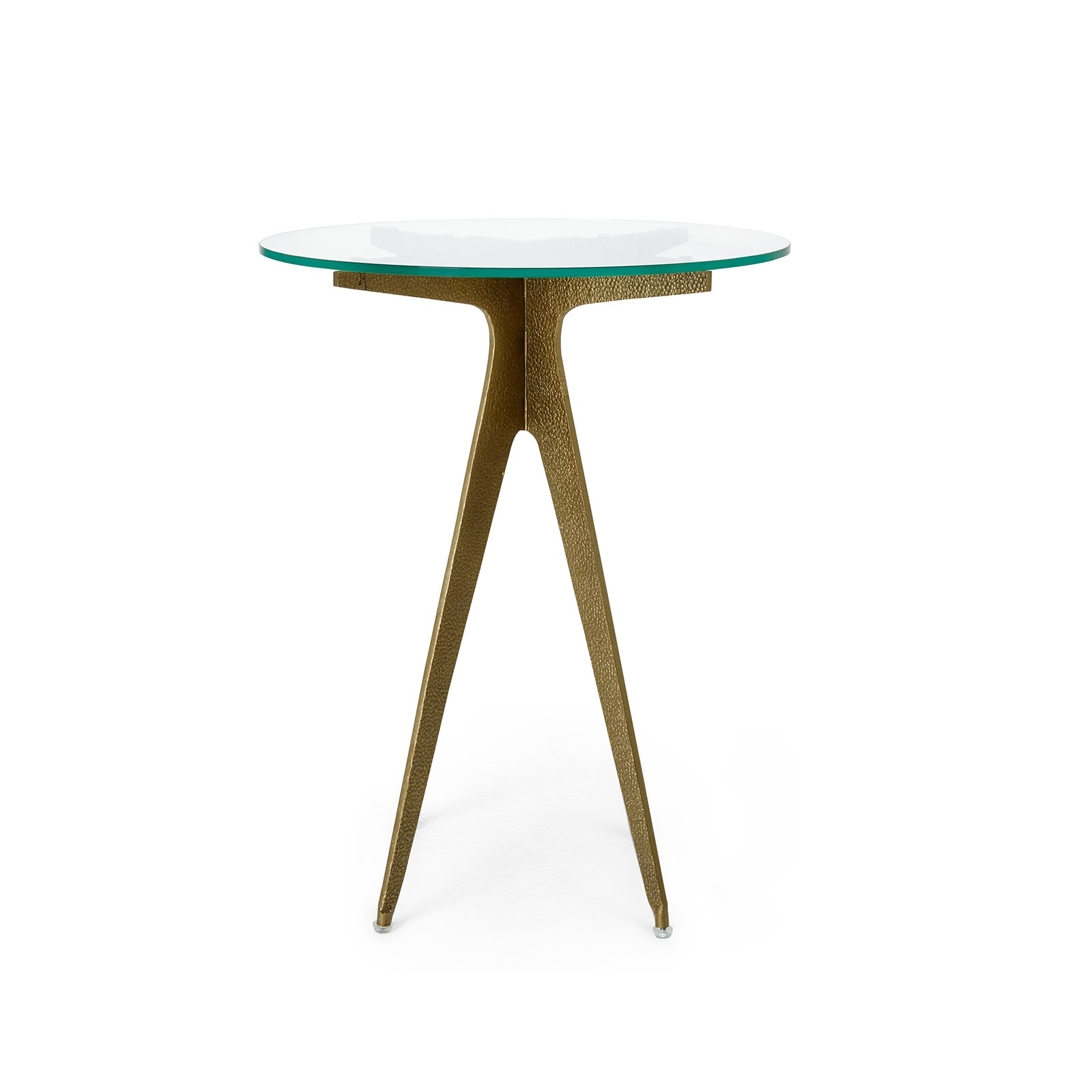 Bentley Side Table Champagne Bronze Bungalow 5