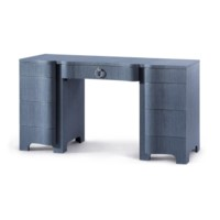Bouquet  Desk, Navy Blue