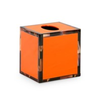 Cheval Tissue Box, Orange