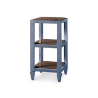 Clairmont Side Table, Navy Blue
