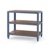 Clairmont Console Table, Navy Blue