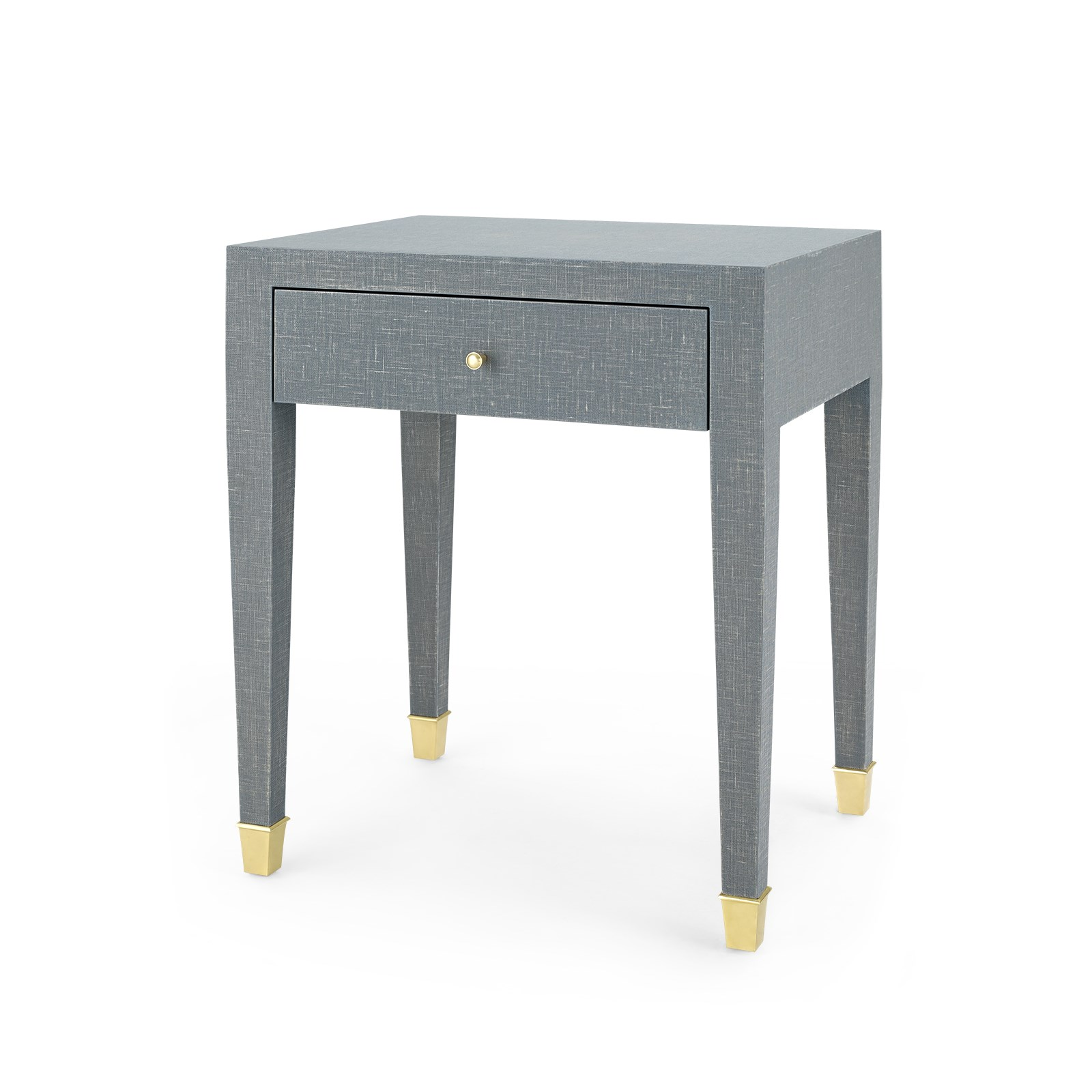 Claudette 1 Drawer Side Table Gray Bungalow 5