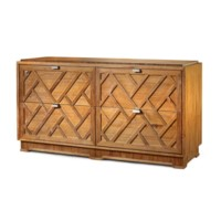 Cara Large 4-Drawer, Natural