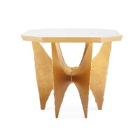 Crane Center Table, White