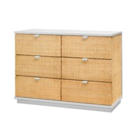 Cosmopolitan Large 6-Drawer, White