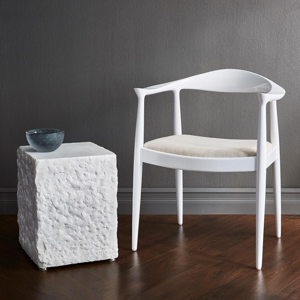 ... Calcutta Side Table, White. X