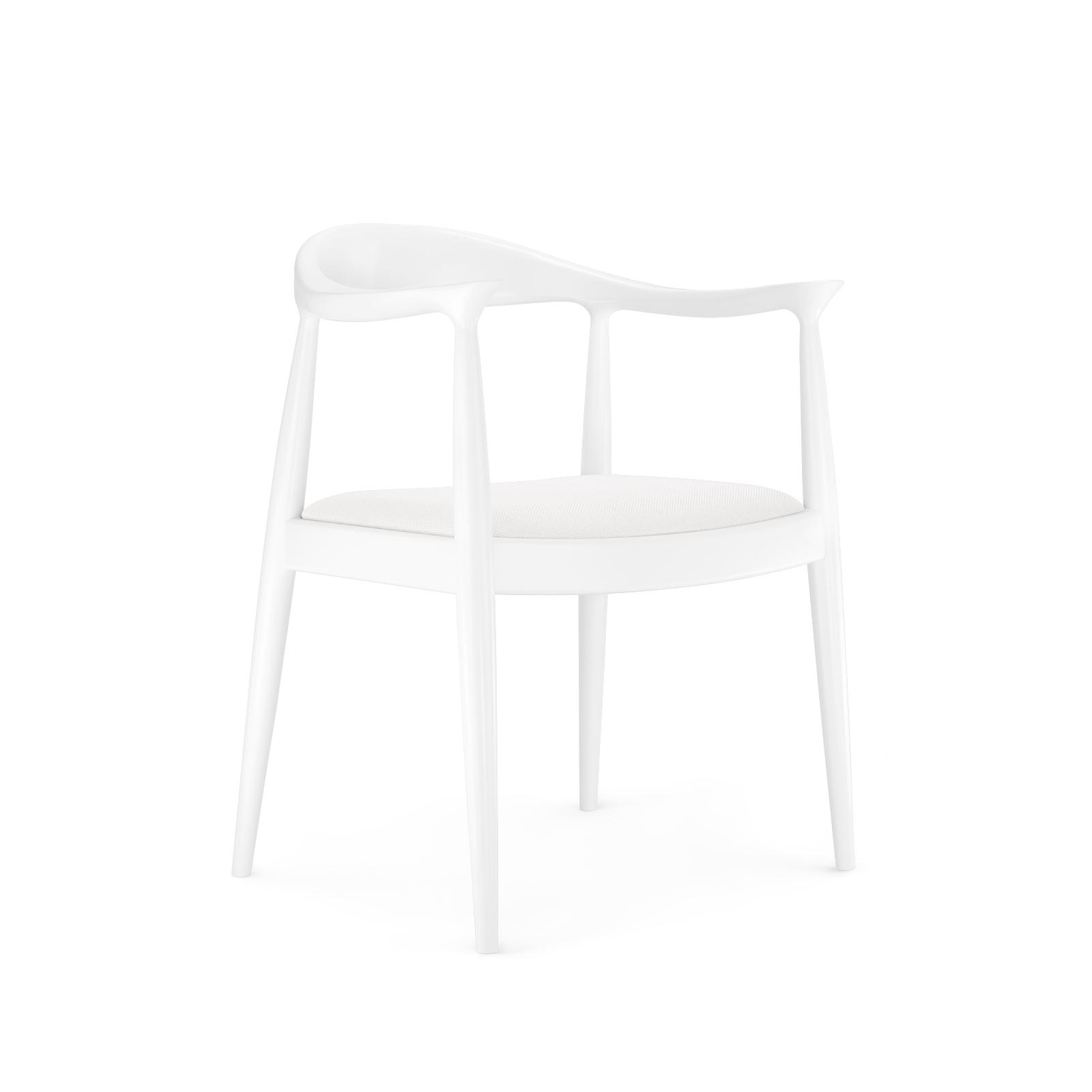 Danish Armchair White Bungalow 5