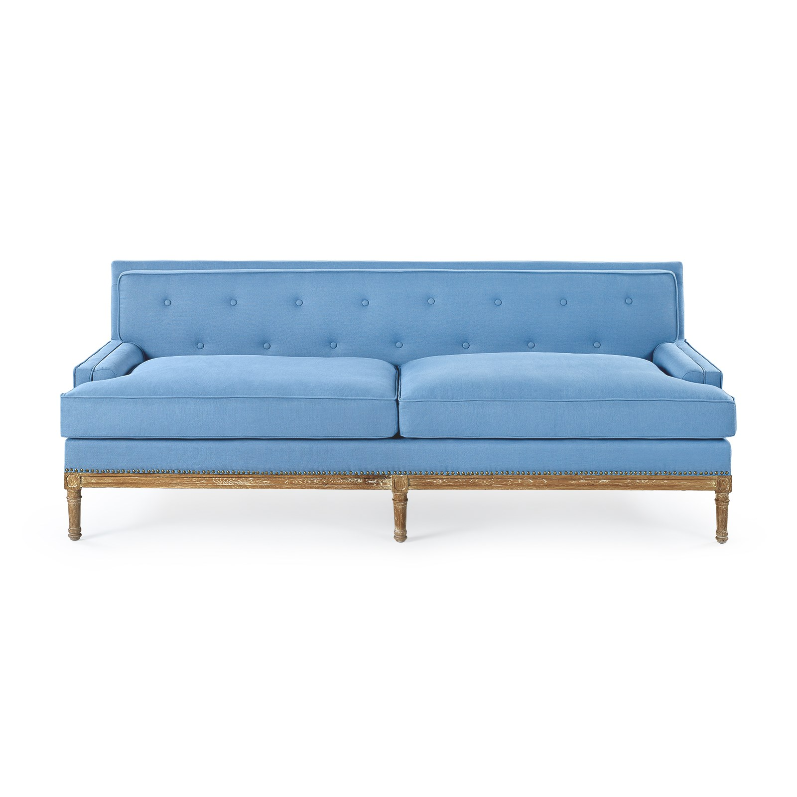 Lovely Davis Sofa   Blue, Blue