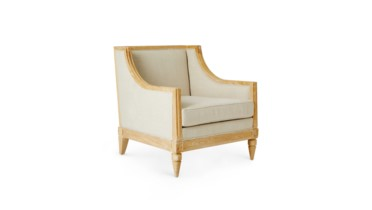 Devon Club Chair, Natural