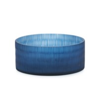 Delaunay Bowl, Navy Blue