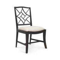 Evelyn Side Chair, Black