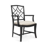 Evelyn Armchair, Black