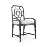 Georgica   Armchair, Black