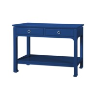 Harlow Console Table, Navy Blue