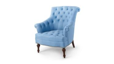 Henson Club Chair - Blue, Blue