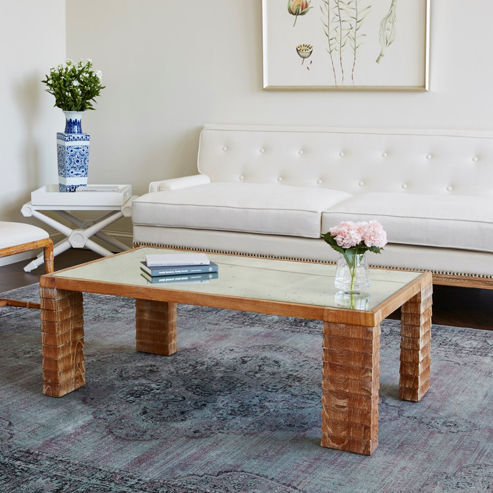 Glass Top Coffee Table From Karl Andersson: Karl Coffee Table, Natural