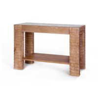 Karl Console Table, Natural