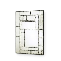 Leger Mirror, Antique Mirror