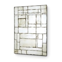 Leger Mirror - Large, Antique Mirror