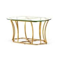 'Magnolia Coffee Table, Gold