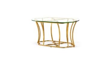 Magnolia Coffee Table, Gold