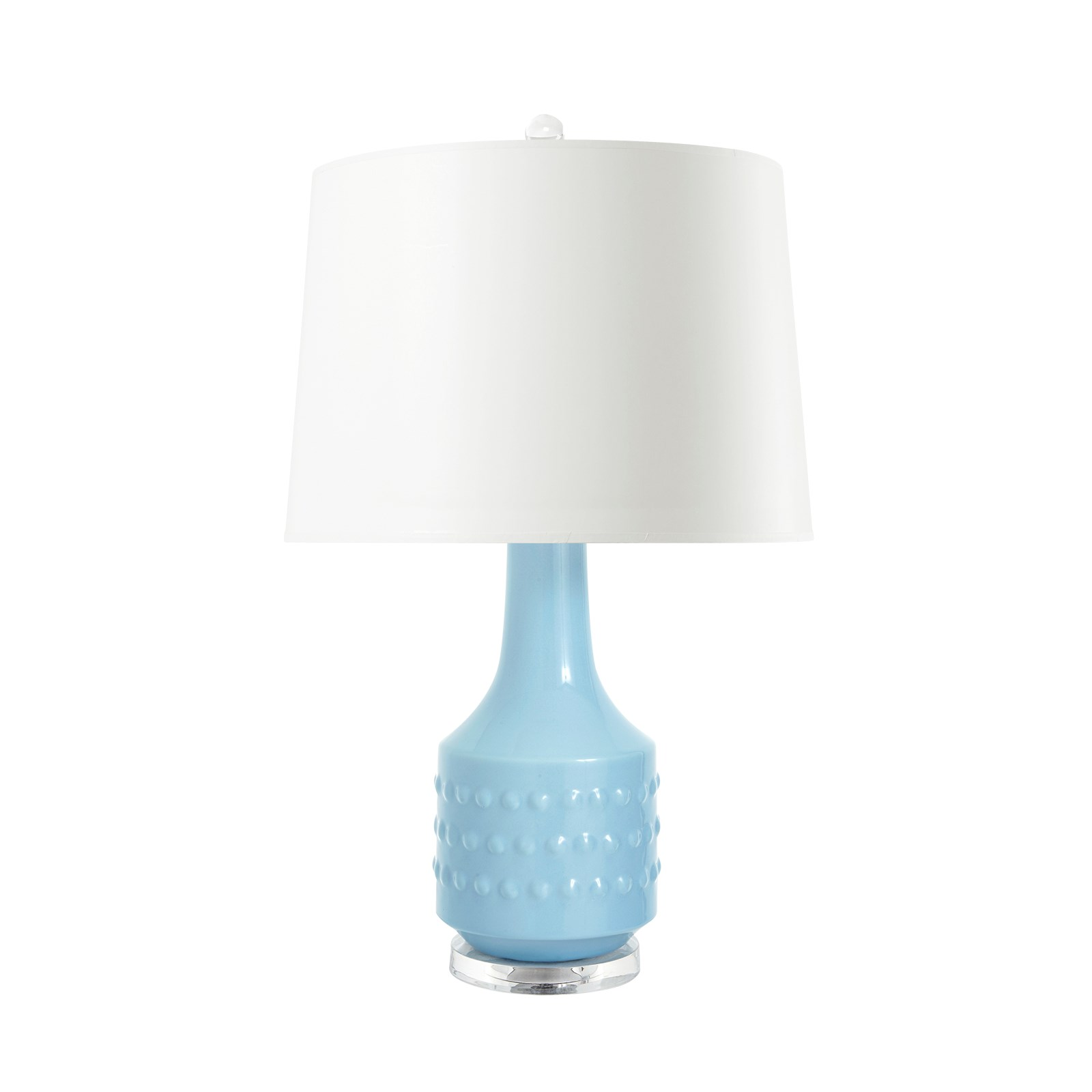 Mariah Lamp (Lamp Only), Light Blue