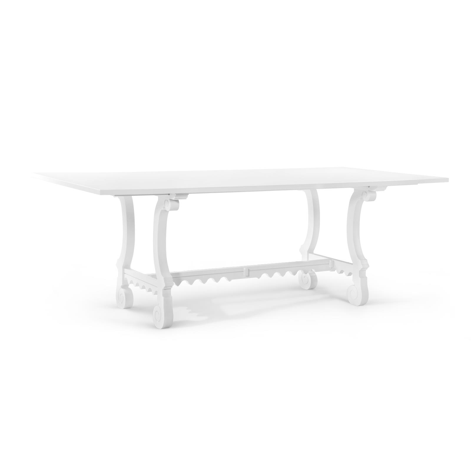 Malta Dining Table White