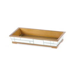 'Modrian Tray, Gold