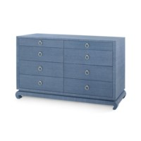 Ming Extra Large 8-Drawer, Navy Blue