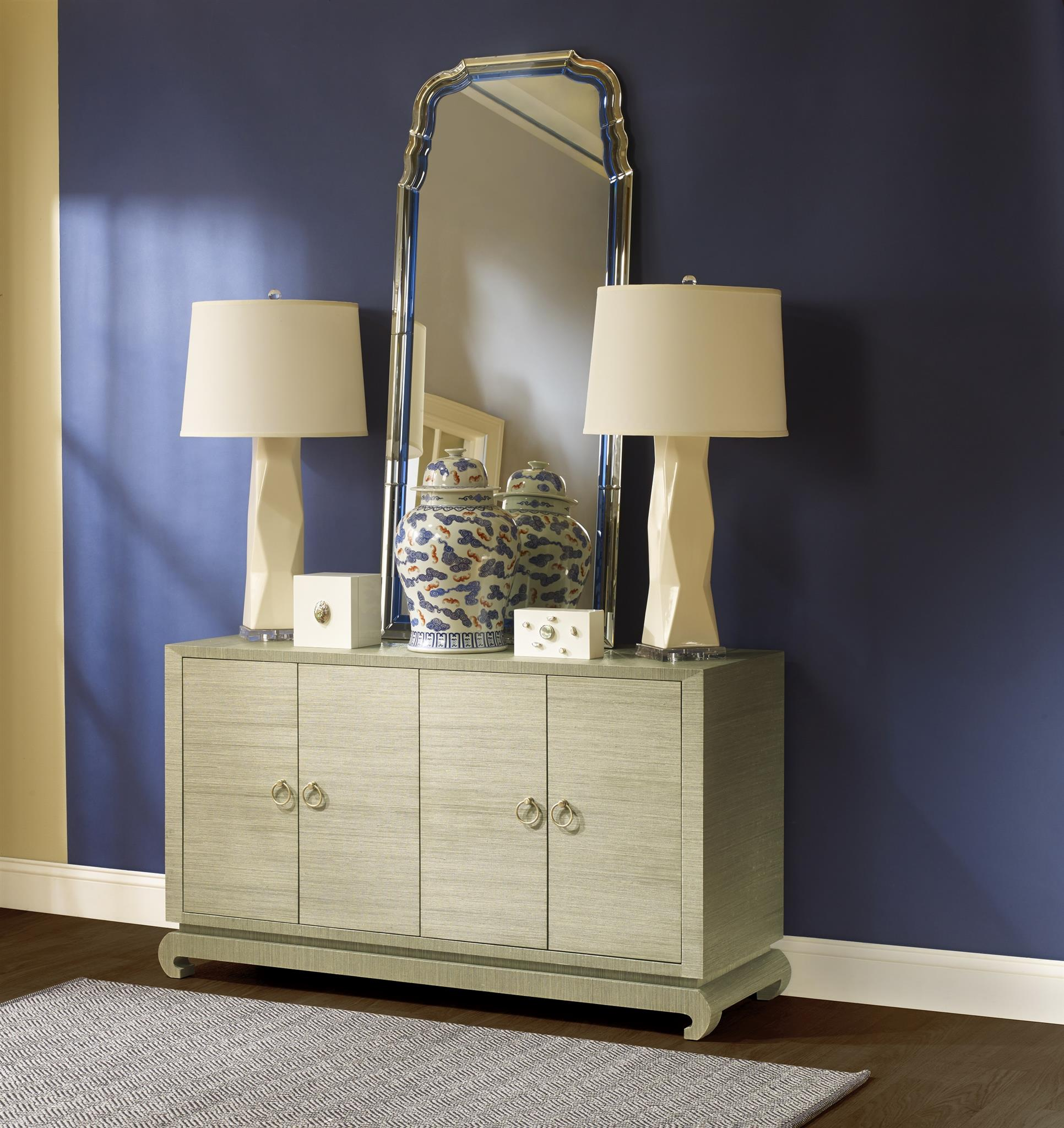 Meredith 4-Door Cabinet, Sage Green - Bungalow 5