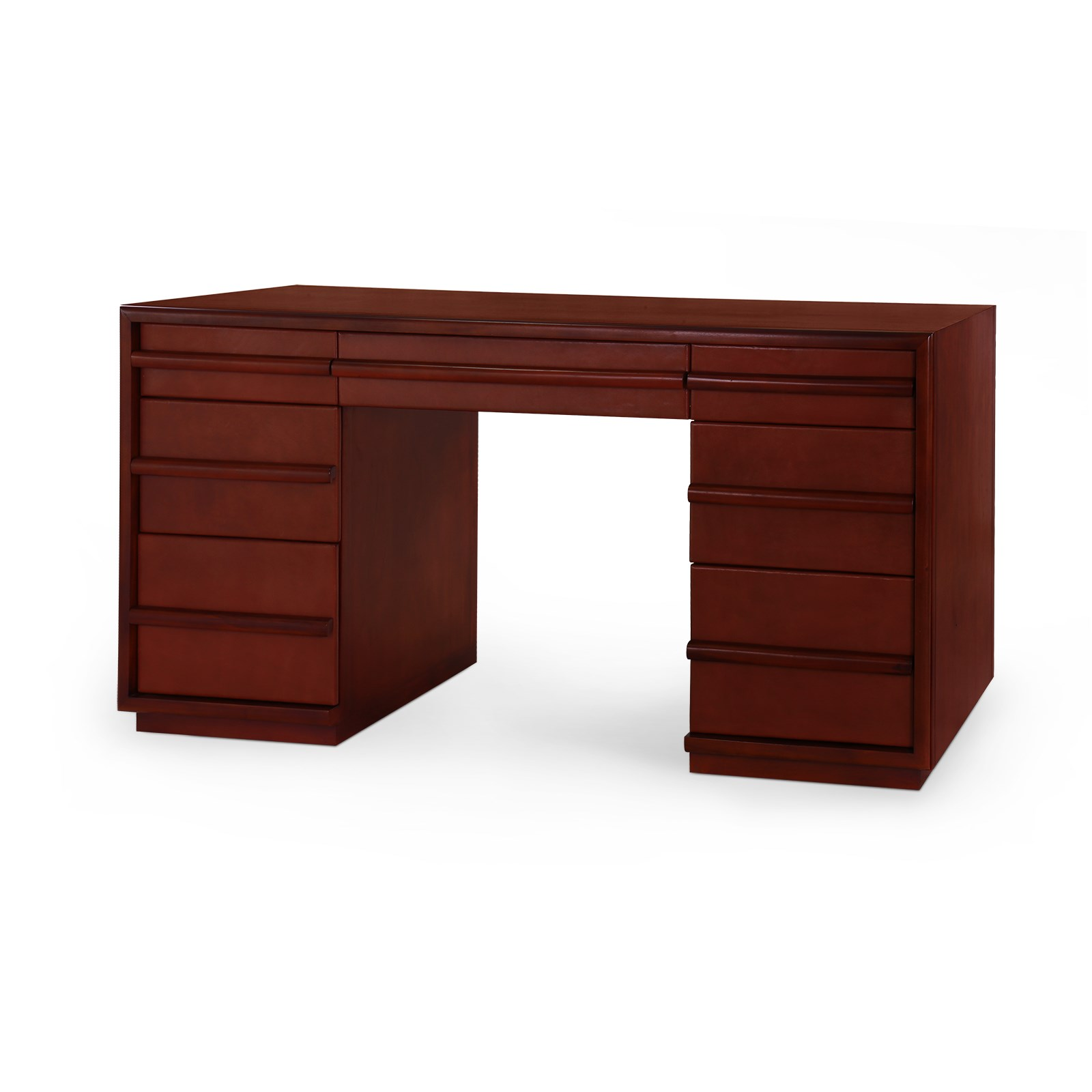 Montclair desk brown bungalow 5 for Bungalow 5 desk