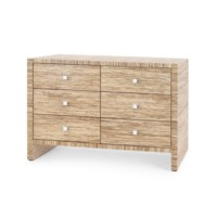 Morgan Papyrus Extra Large 6-Drawer, Natural