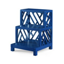'Nantucket Side Table - Blue, Navy Blue