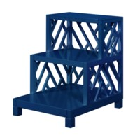 Nantucket Large Side Table, Navy Blue
