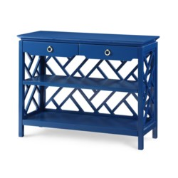 'Nantucket Console Table - Blue, Navy Blue