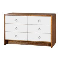 Niagara  6-Drawer, Medium Brown
