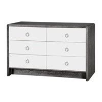 Niagara  6-Drawer, Gray