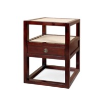 Polo 1-Drawer Side Table., Walnut