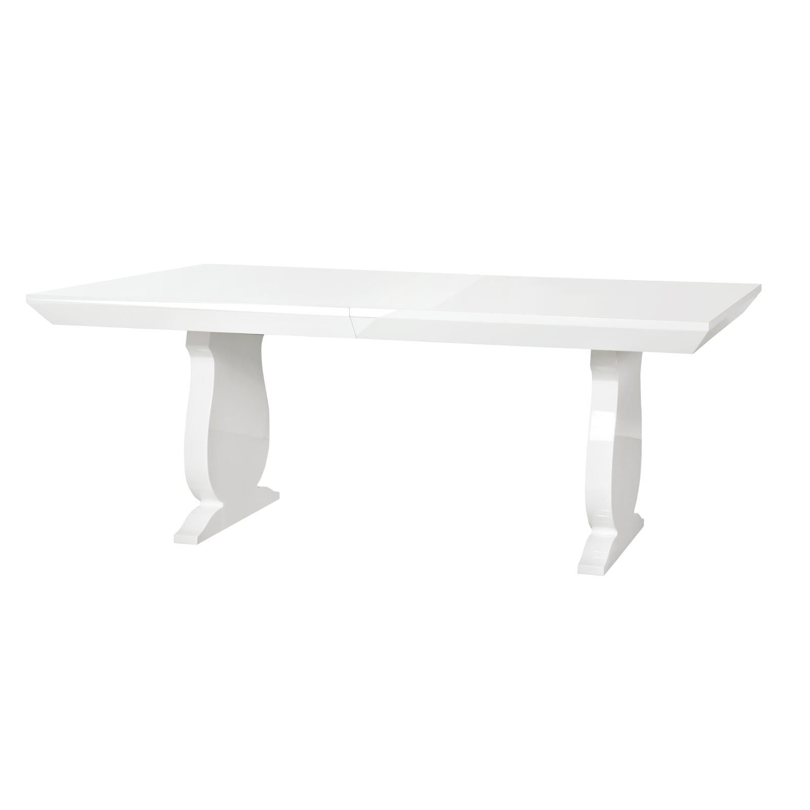 porto dining table white bungalow 5 bungalow 5 white lacquered