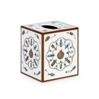 Perfume Tissue Box, White
