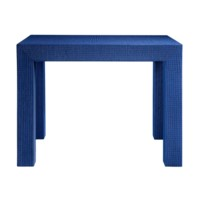 Parsons Side Table, Blue