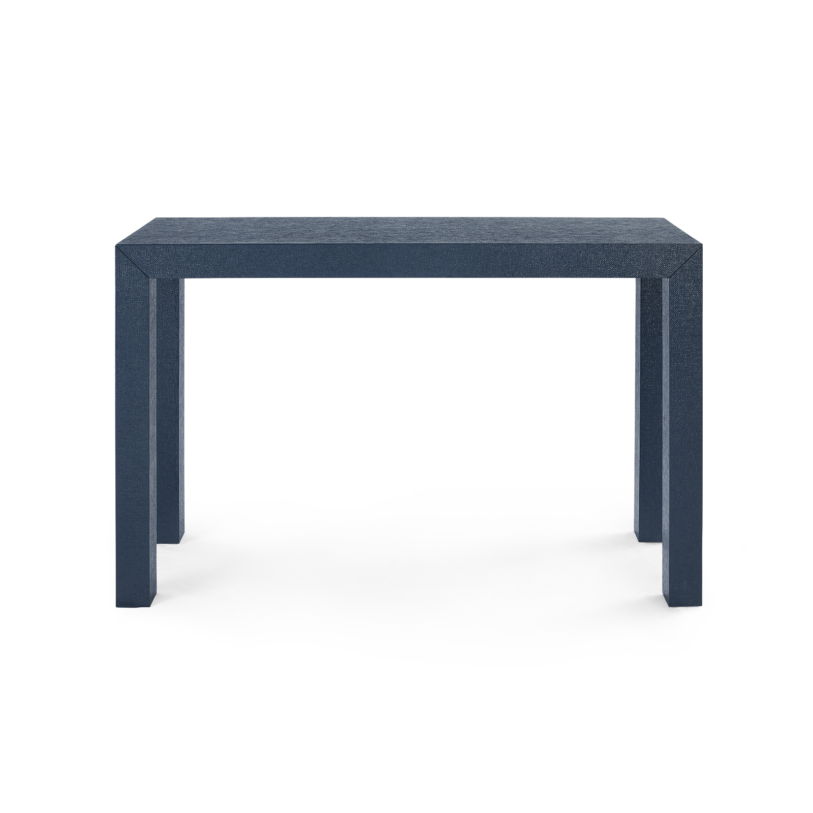 parsons console table navy blue