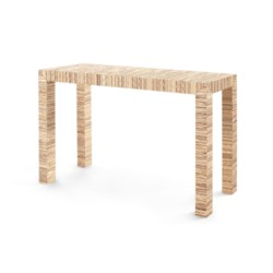 'Parsons Papyrus Console Table, Natural