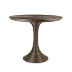 'Rope Center/Dining Table, Gray