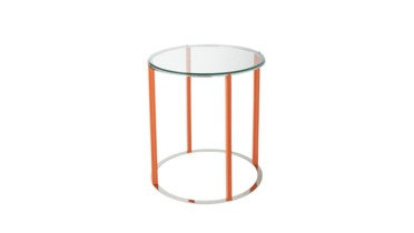 Rudolph Side Table, Orange